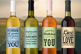 customised wine bottle labels personalised wine labels takes off the real review
