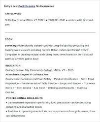 Sample Grill Cook Resume Sample Grill Cook Resume Grill Chef Sample Resume Elegant Grill Cook