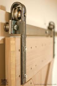 DIY Barn Door Track Find It Make Love With Roller And 1 On ...