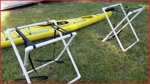 diy kayak stand diy kayak stand 6188 diy portable pvc kayak stand diy portable pvc kayak