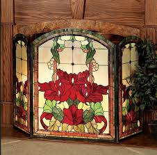 leaded glass fireplace screens contemporary picture home security at leaded glass fireplace screens
