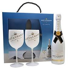 moët chandon ice impérial gift set chagne moët chandon chagne flutes x 2 amazon co uk beer wine spirits