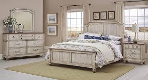 Arrendelle Panel Bedroom Set (Rustic White)