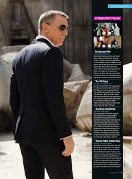 The James Bond 007 Dossier Stuff Magazine James Bond Skyfall.