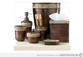 modern bathroom accessories sets. Opal Copper Collection. Paradigm Bath Accessories Modern Bathroom Sets E