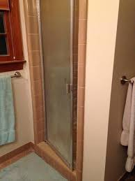 retiling a shower what type of tiles on floor and in shower shower door or is retiling a shower