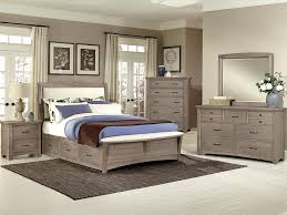 Oak Veneer Bedroom Furniture Driftwood Oak Finish Bedroom Barbos Furniture