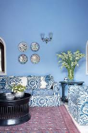 Sky Blue Living Room