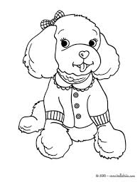 Small Picture dog color pages printable POODLE coloring pages Color this