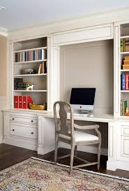 home office traditional with beadboard shelves built in desk image by estee design inc built home office desk