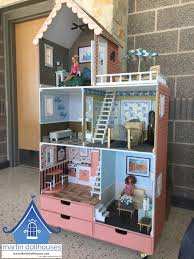 barbie wood furniture. Barbie Wooden Townhouse Donated Wood Furniture