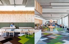 S Bolon Floor Tiles In The Office Of Cisco Meraki San Francisco USA