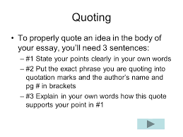 comparison contrast and cause effect essays for essay you  22 quoting to properly quote