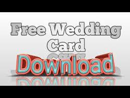muslim wedding card free crd