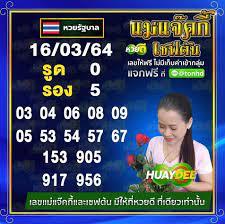 เลขเด็ด หวยเชฟต้น แม่แจ๊คกี้ งวด 16 มีนาคม 2564