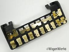 vw bay window motors vw type 2 fuse box 10 fuses bay window 1968 to 1969