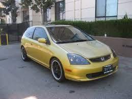 Hatchback 2002 Honda Civic Si With 2 Door In North Hollywood Ca 91601 Honda Civic Si Honda Civic Hatchback