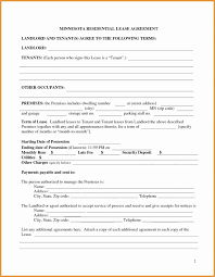 Simple Rent Contract Awesome 30 Free Printable Lease Agreement Free