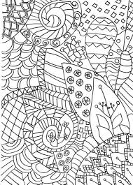 zentangle colouring page detailed grown up colouring page for s or older children inspired