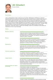 Scientist Resume Samples Visualcv Resume Samples Database