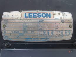 leeson electric motor wiring diagram solidfonts wiring diagram 5hp leeson motor the