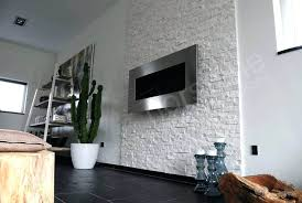 white quartz natural stacked stone veneer for feature wall fireplace pictures