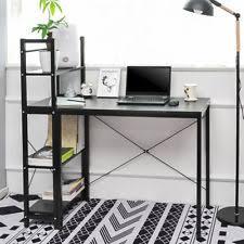shelves for office. Computer Desk Corner PC Laptop Workstation Study 4 Shelves Home Office 2 Colors For