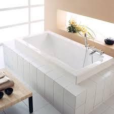 neptune zen modern 66x32 acrylic square bathtub with whirlpool system