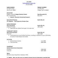 Free Resume Templates For Students With No Experience Best Of Free Resume Templates For High School Students With No Experience