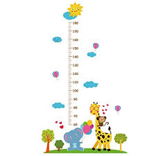 Amazon Com Sangni Kids Growth Chart Cute Childrens