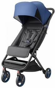 Прогулочная <b>коляска Xiaomi MITU</b> Baby Folding Stroller (Голубая ...