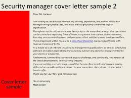 Security Guard Cover Letter Resume Genius Best Professional