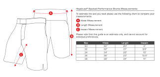 Cage Fighter Shorts Size Chart Fightshorts Hayabusa Thailand