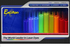 Laser Dye Chart New Laser Dyes From Exciton Vadeno