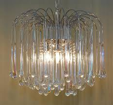 italian teardrop chandelier at 1stdibs for awesome house teardrop glass chandelier decor