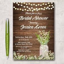 Free Bridal Shower Invite Templates Free Rustic Wedding Invitation Templates Template Business