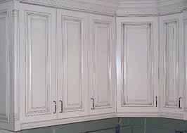 painted cabinets with glaze | Rub-through