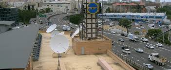 Installation Of A C Ku Band Tvro Satellite Dish Network Ten