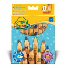 <b>Карандаши для</b> малышей, <b>толстые</b>, <b>8</b> шт Crayola 3678 - купить в ...