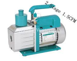 refrigerator vacuum pump. double stage dual vlotage 110v/220v 50/60hz refrigeration vacuum pump at 1.5cfm refrigerator 0