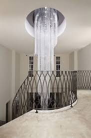 wonderful large contemporary crystal chandeliers modern chandelier large crystal light fixture for lob regarding