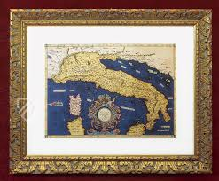 Charts Italien Italys Ptolemaic Chart Facsimile