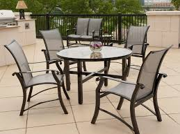 aluminum dining room chairs within stunning popular of round patio dining table aluminum outdoor dining table in aluminum dining room chairs