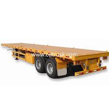 Причіп і напівпричіп контейнеровоз для продажу з причепу на продаж у Китаї.