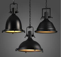 industrial pendants lighting. aliexpresscom buy 100 240v large heavy lustres home vintage industrial metal lamp loft black chrome pendant light big retro kitchen from pendants lighting