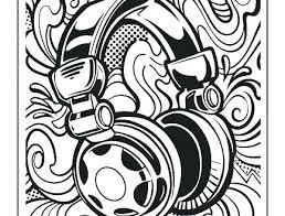 Graffiti Coloring Pages 488websitedesigncom