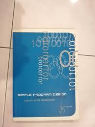 Simple Program Design Simple Program Design 5th Edition