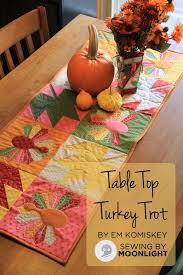 "Free Thanksgiving Quilt Patterns – BOMquilts.com & ""Table Top Turkey Trot"" Free Quilted Pattern designed by Em Komiskey from  Moda Bakeshop. "" Adamdwight.com"