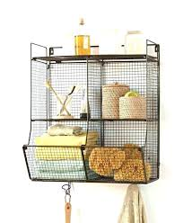 hanging wall baskets for bathroom bathroom wire baskets hang wire baskets from metal rods bathroom co hanging wall baskets