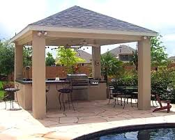 backyard covered patio cost kitchen ideas medium size outdoor kitchen designs with roofs covered outdoor kitchen